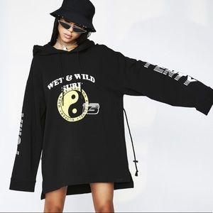 PUMA FENTY Rihanna oversized hoodie dress